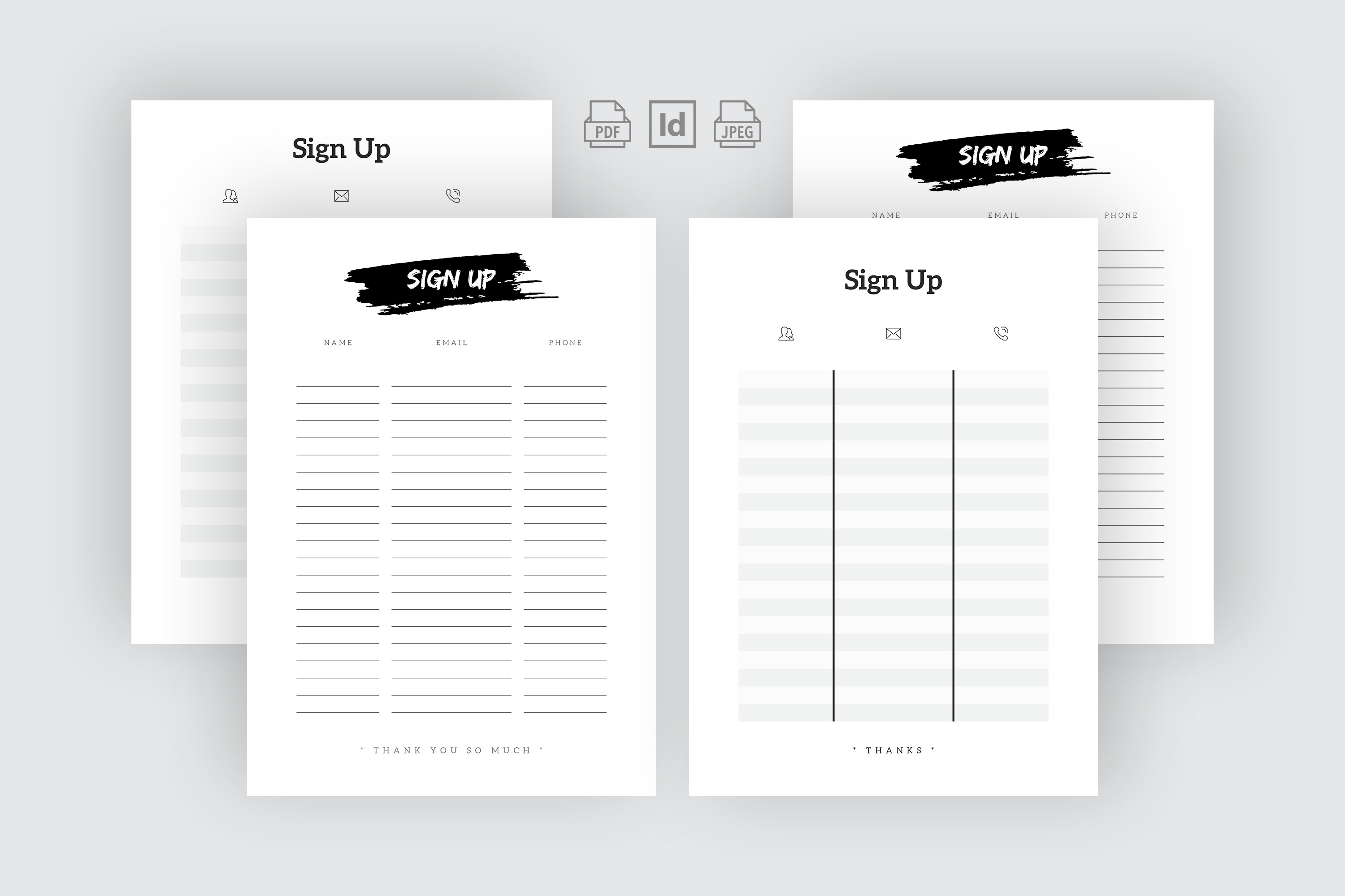 Sign Up Template example image 1