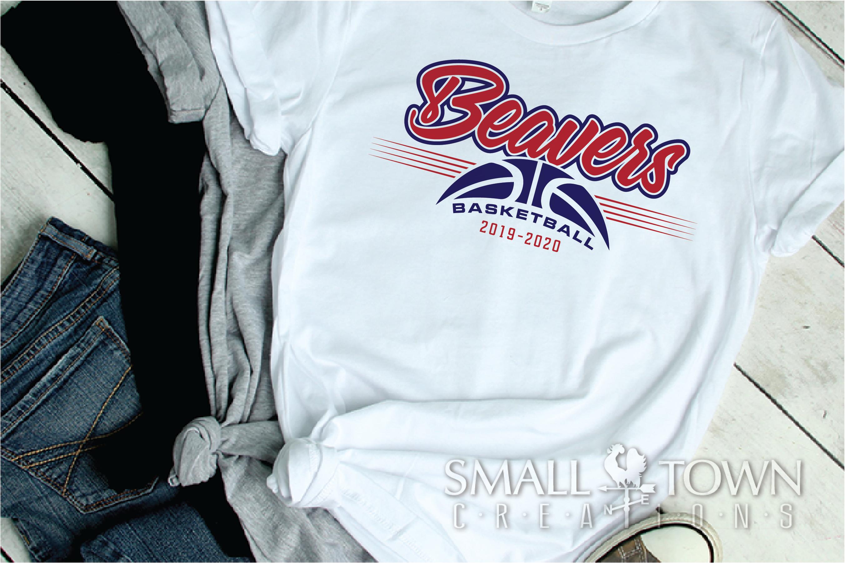 Beaver, Basketball, Sport, Team, Logo, PRINT, CUT, DESIGN example image 2