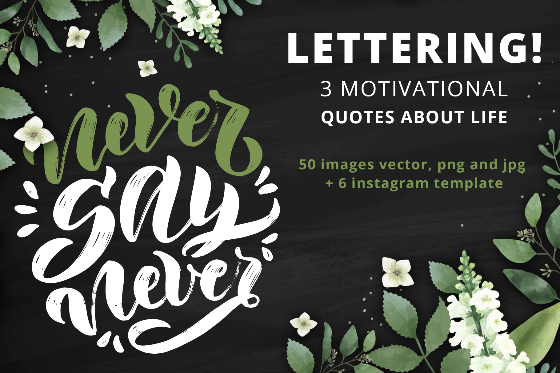 Handwritten Positive quotes example image 1
