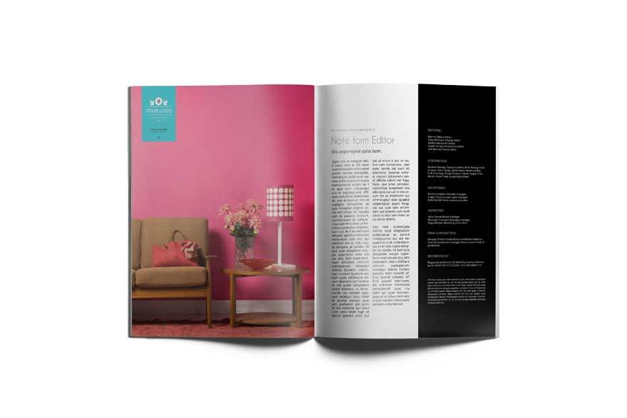 32 Pages Magazine Template example image 6