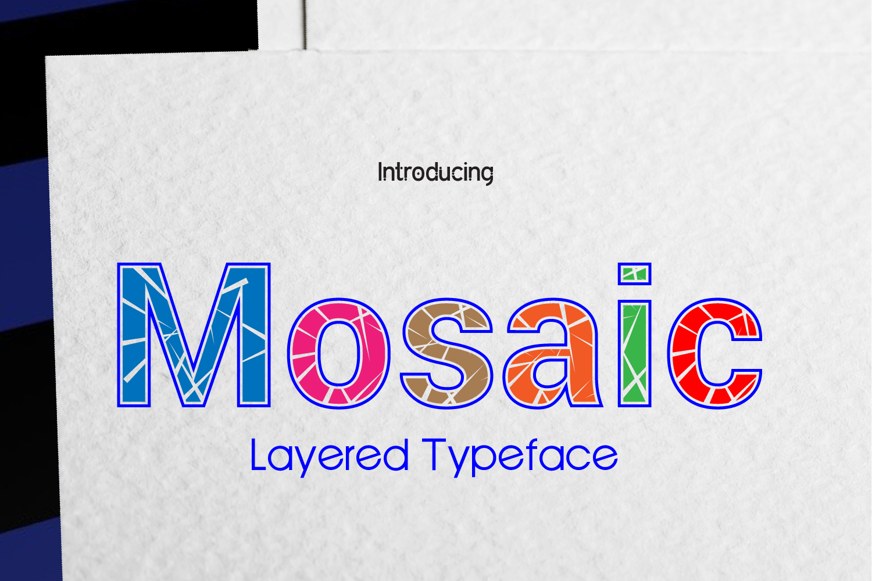 Mosaic example image 1