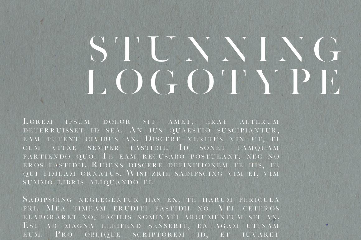 Faroe Thin | A Stunning Serif example image 3
