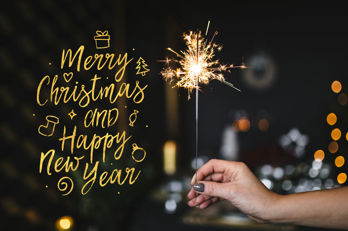 Best Christmas Font BIG UPDATE example image 4