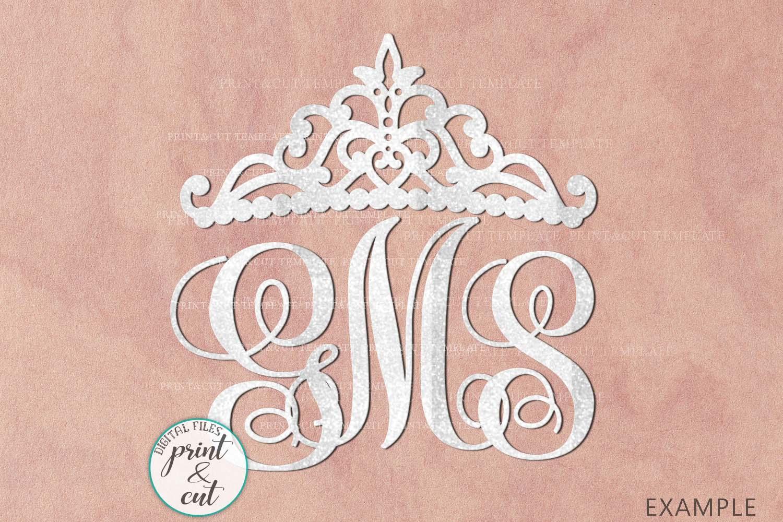 Wedding Princess Bride Bundle cut out svg dxf templates example image 11