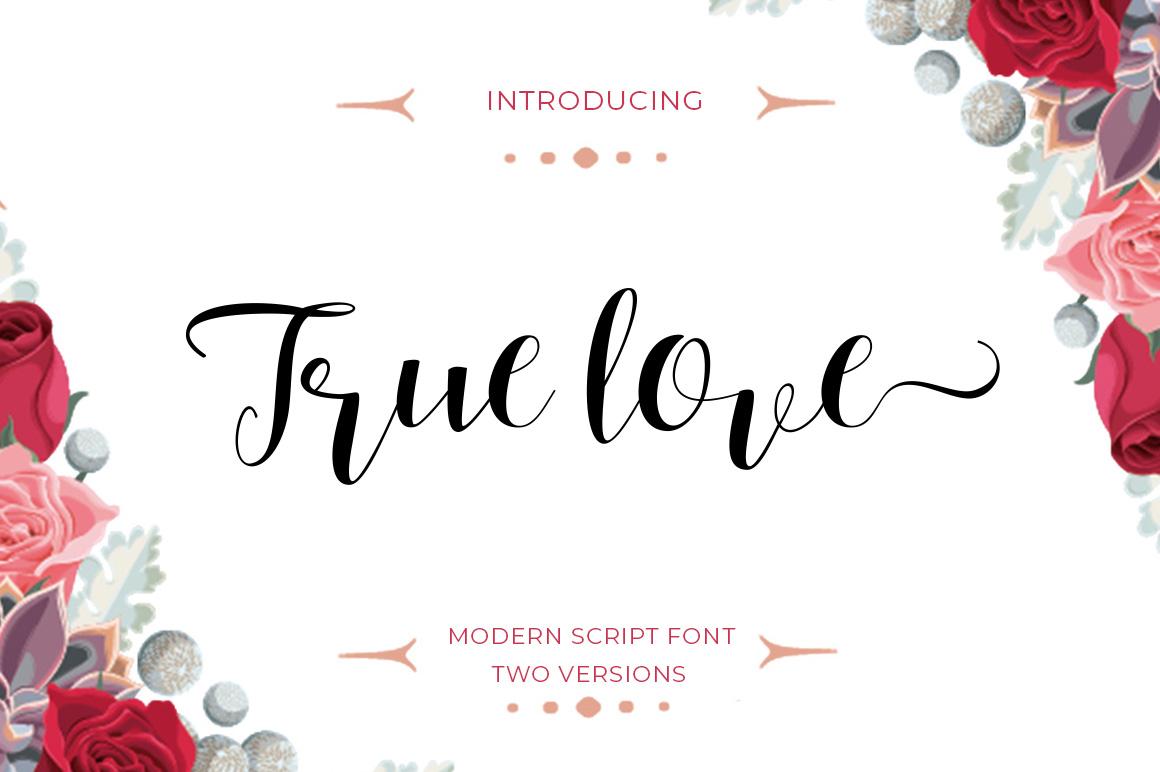 Calligraphy Script Bundle example image 15