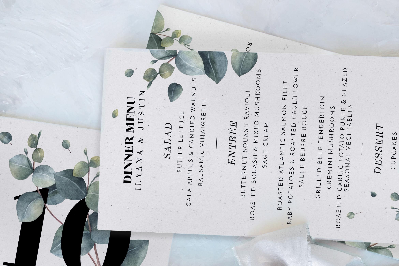 Eucalyptus Foliage Wedding Suite example image 5