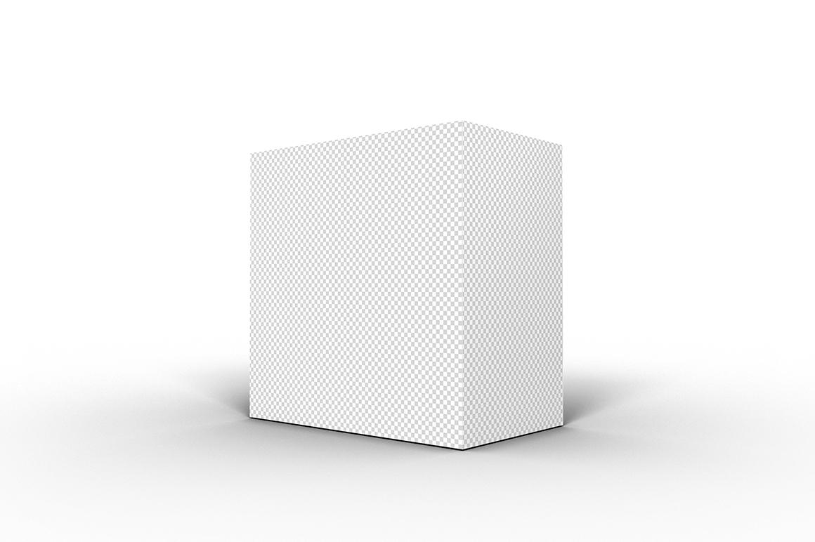 5.5.3 Simple 3D Box Mockup PSD example image 2
