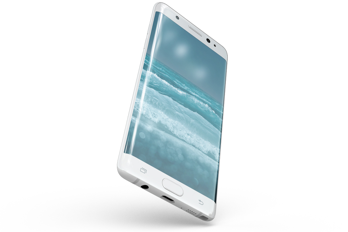 Samsung Galaxy Note 7 Gravity Mockup example image 4