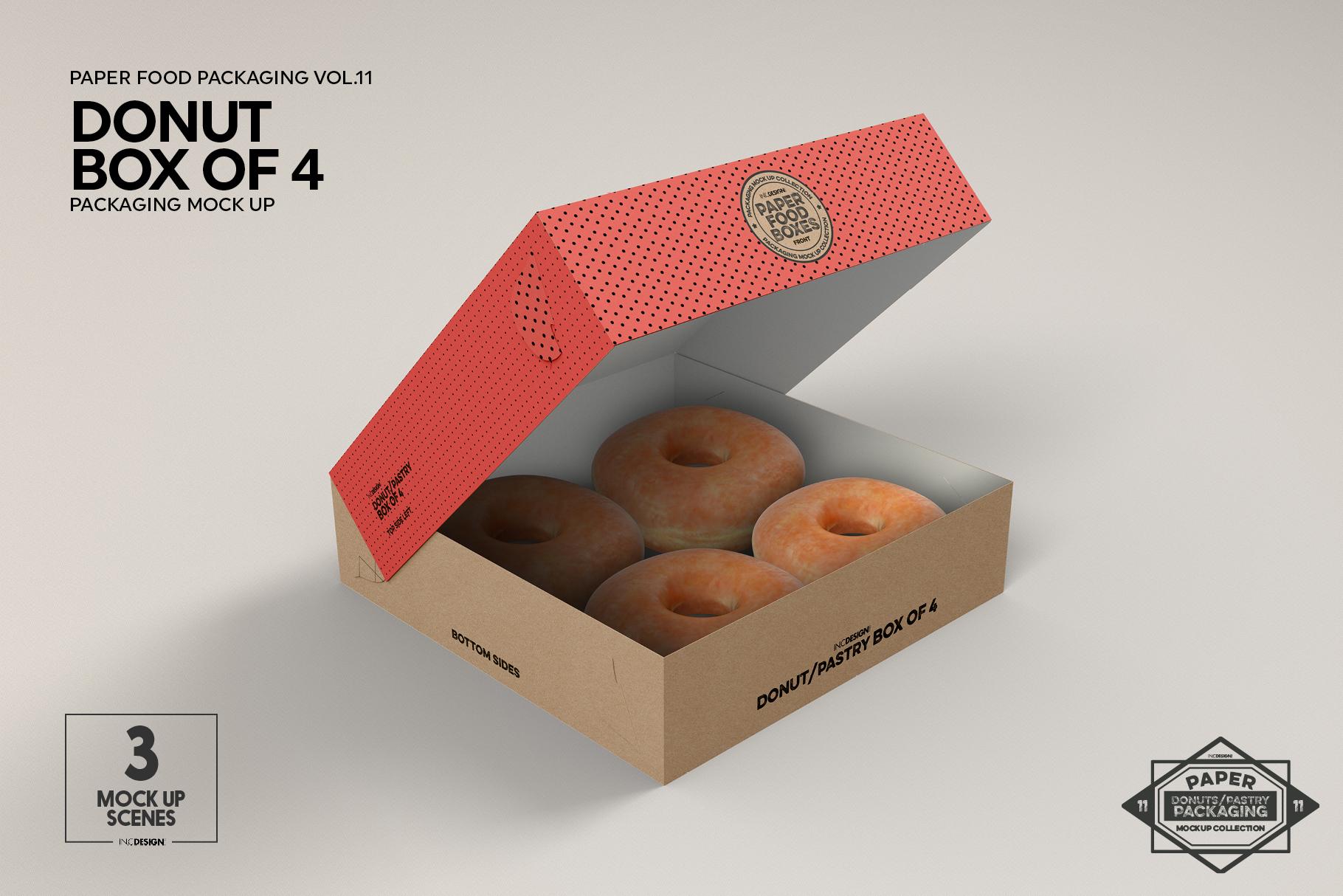 VOL.11 Food Box Packaging MockUps example image 21