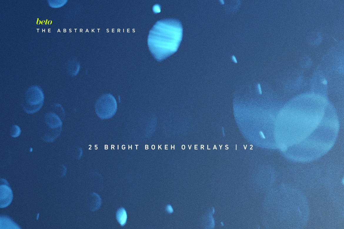 Bright Bokeh Overlays V2 example image 1
