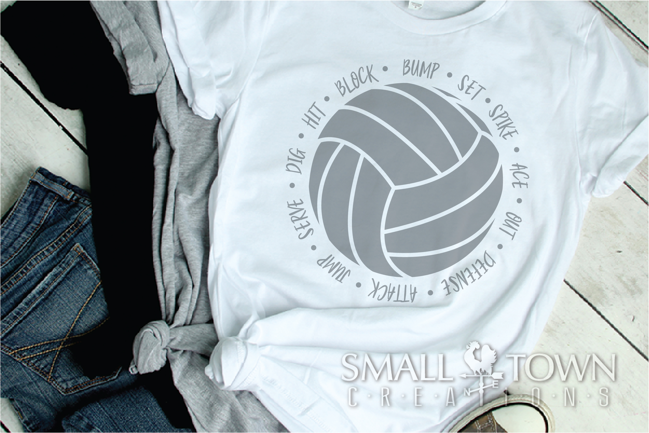 Volleyball, Ball, Sport, Team, Logo, PRINT, CUT & DESIGN example image 2