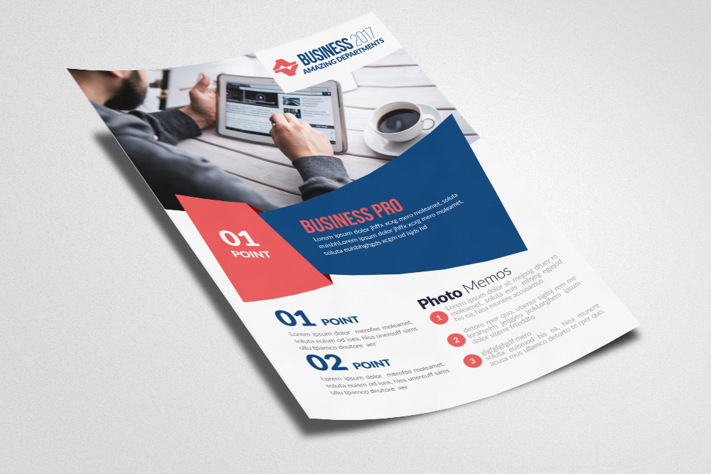 Global Network Services Flyer Template  example image 3