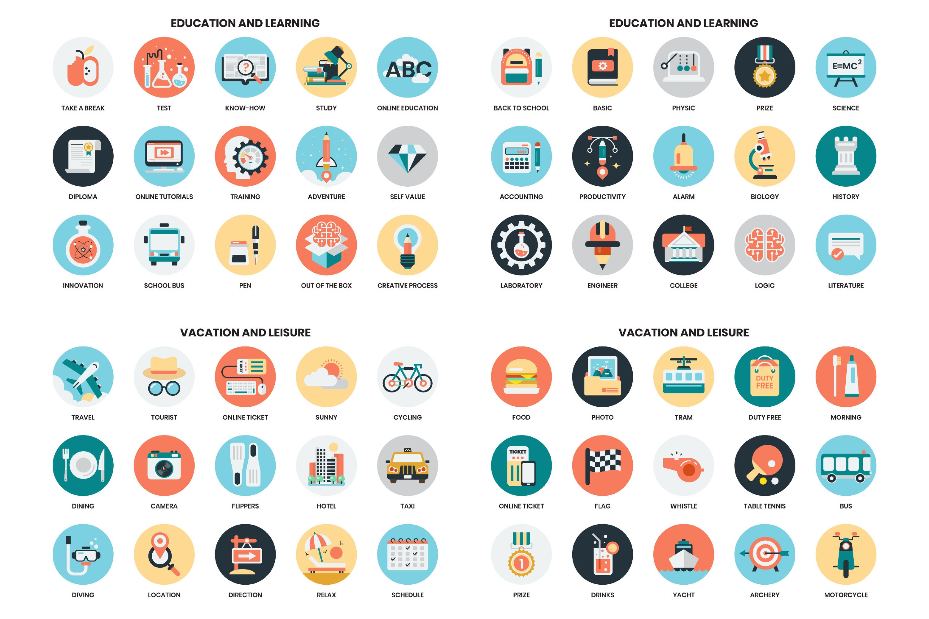 1155 PERFECT ICONS SET example image 12