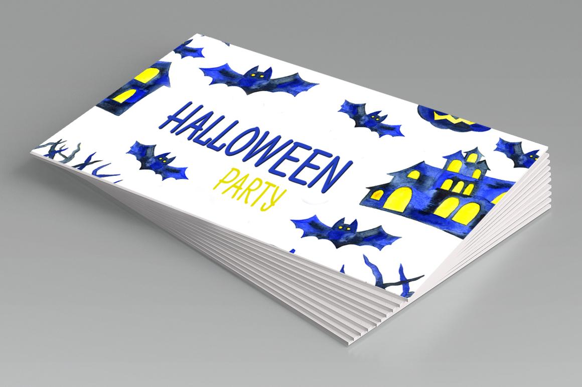 Watercolor Halloween example image 2
