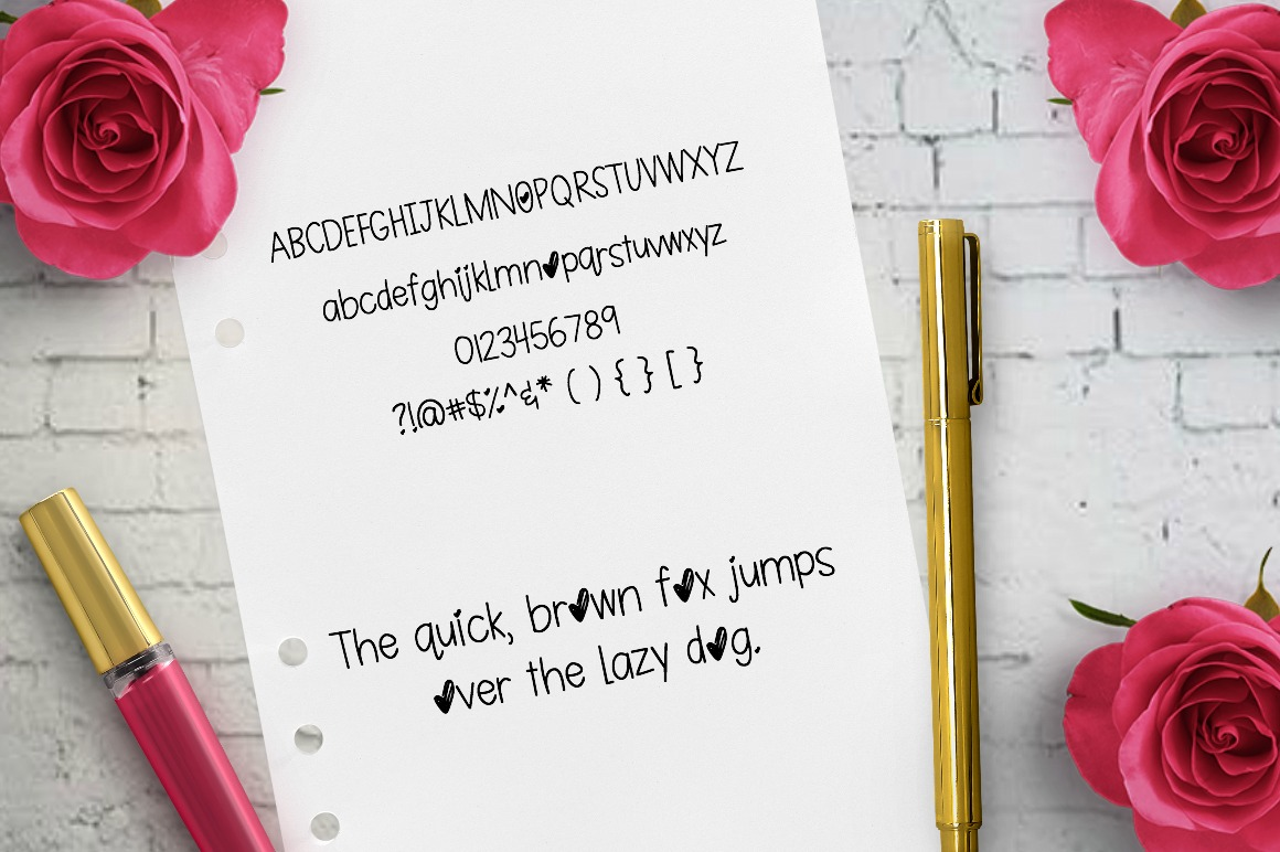 Smooches: Handwritten Font example image 2
