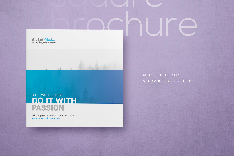 Multipurpose Square Brochure example image 9