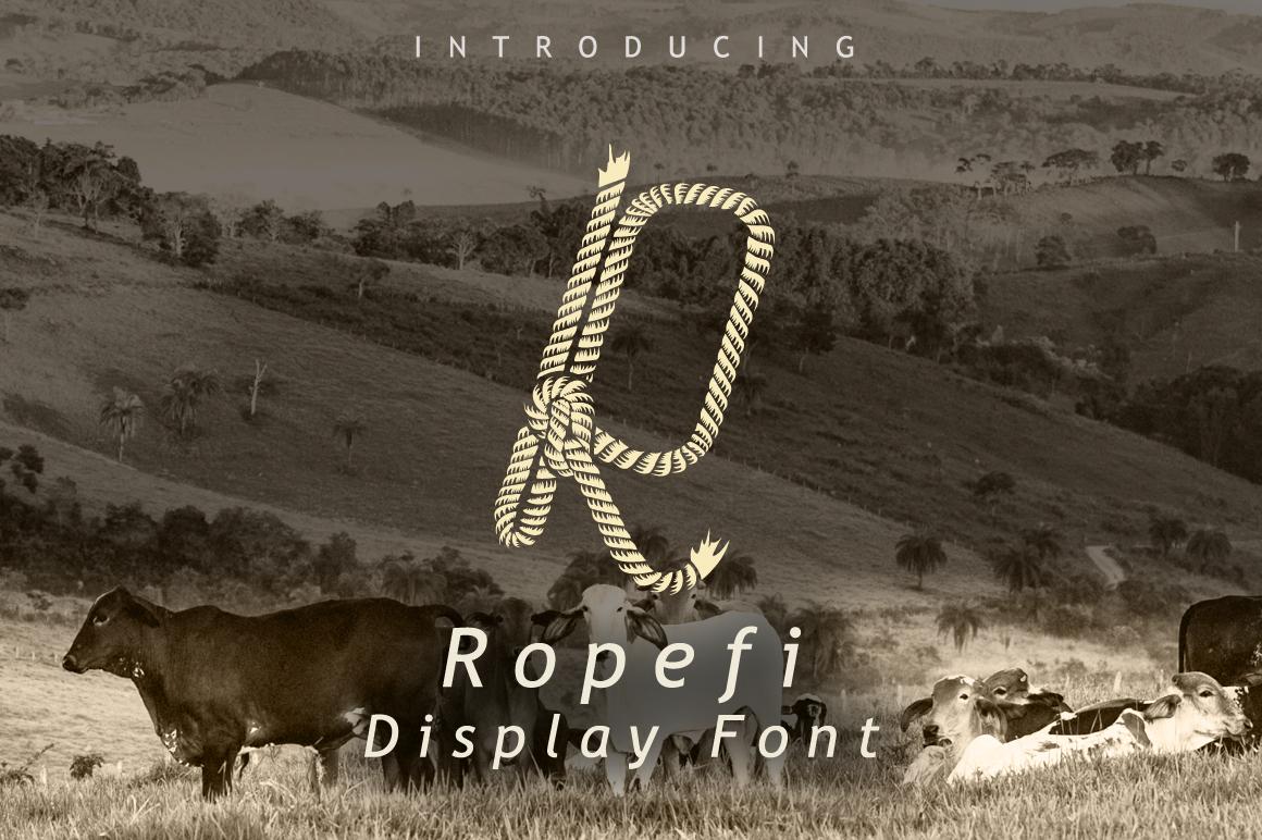 Ropefi Font example image 1