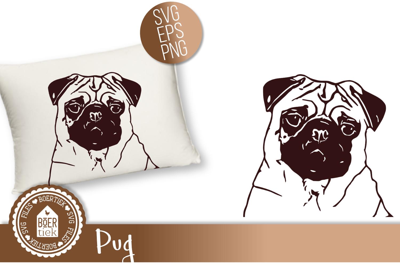 Pug, cutting file example image 1