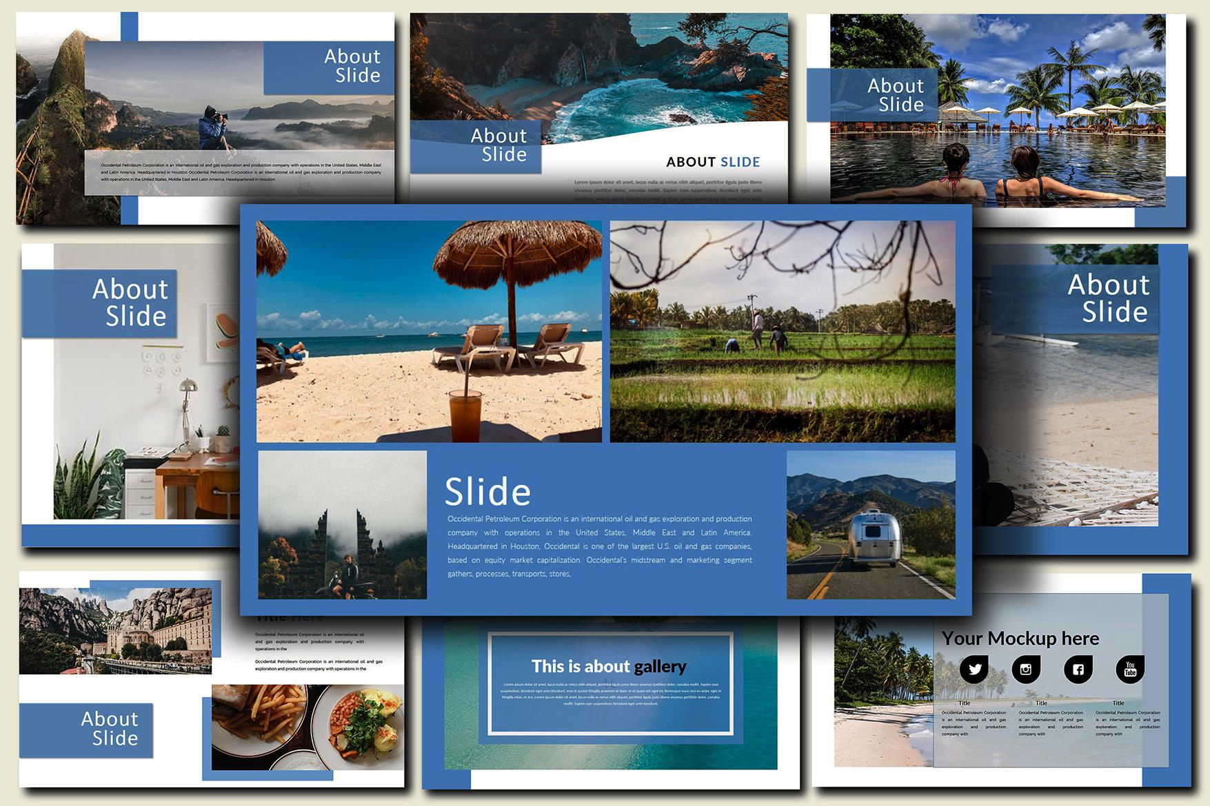 Holiday - Google Slides Presentation example image 9