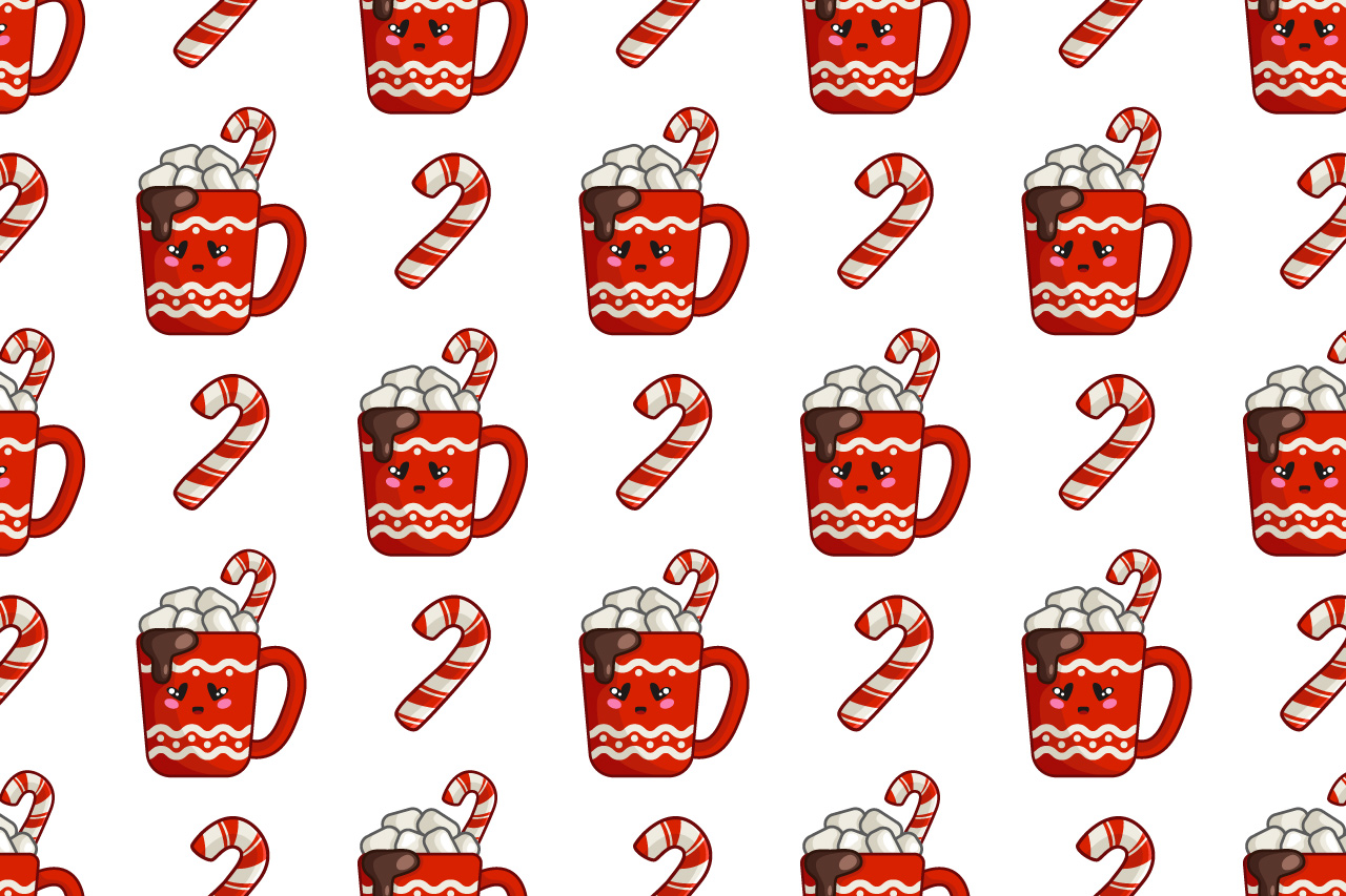 Merry Christmas - kawaii characters example image 3
