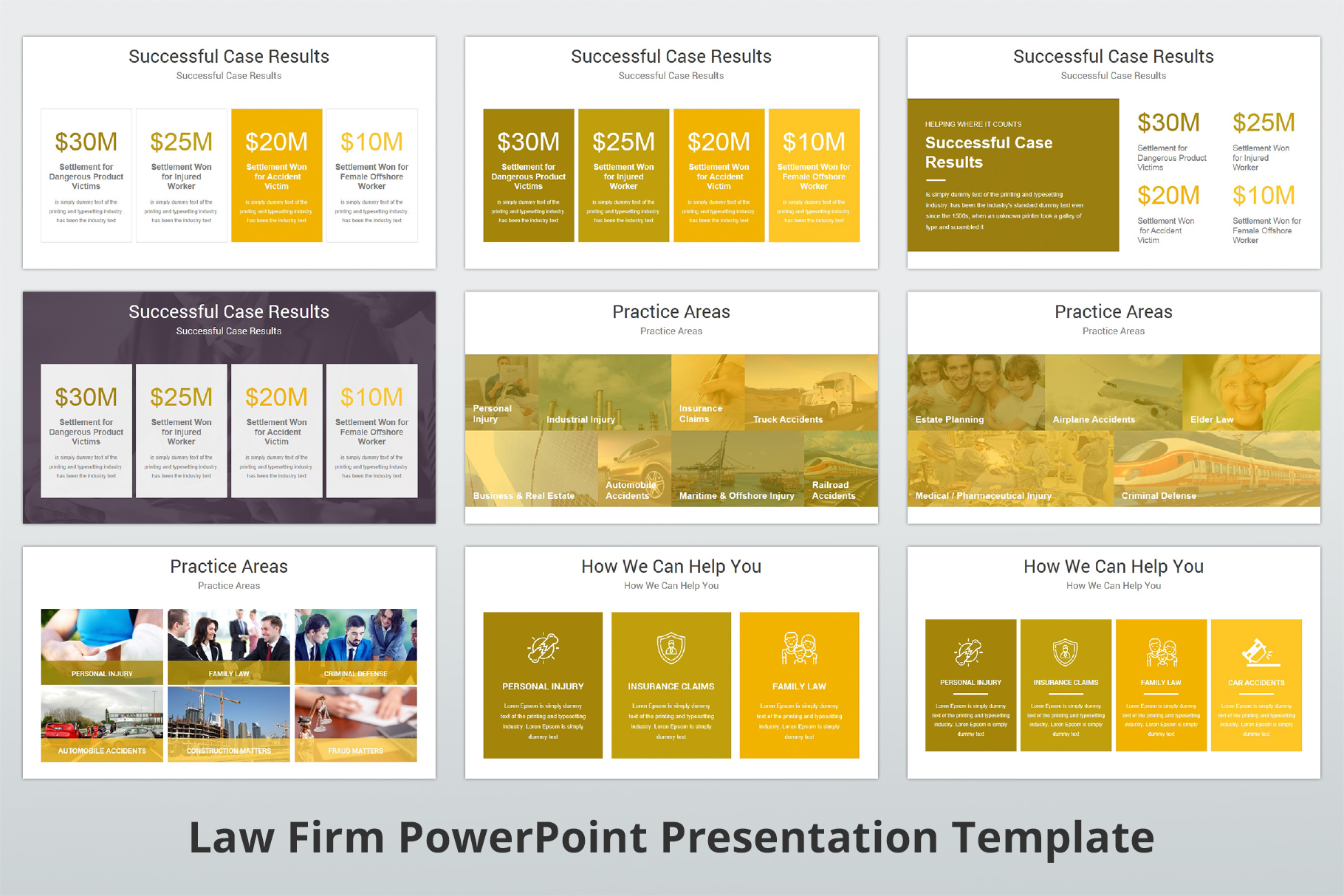 Law Firm PowerPoint Presentation Template example image 6