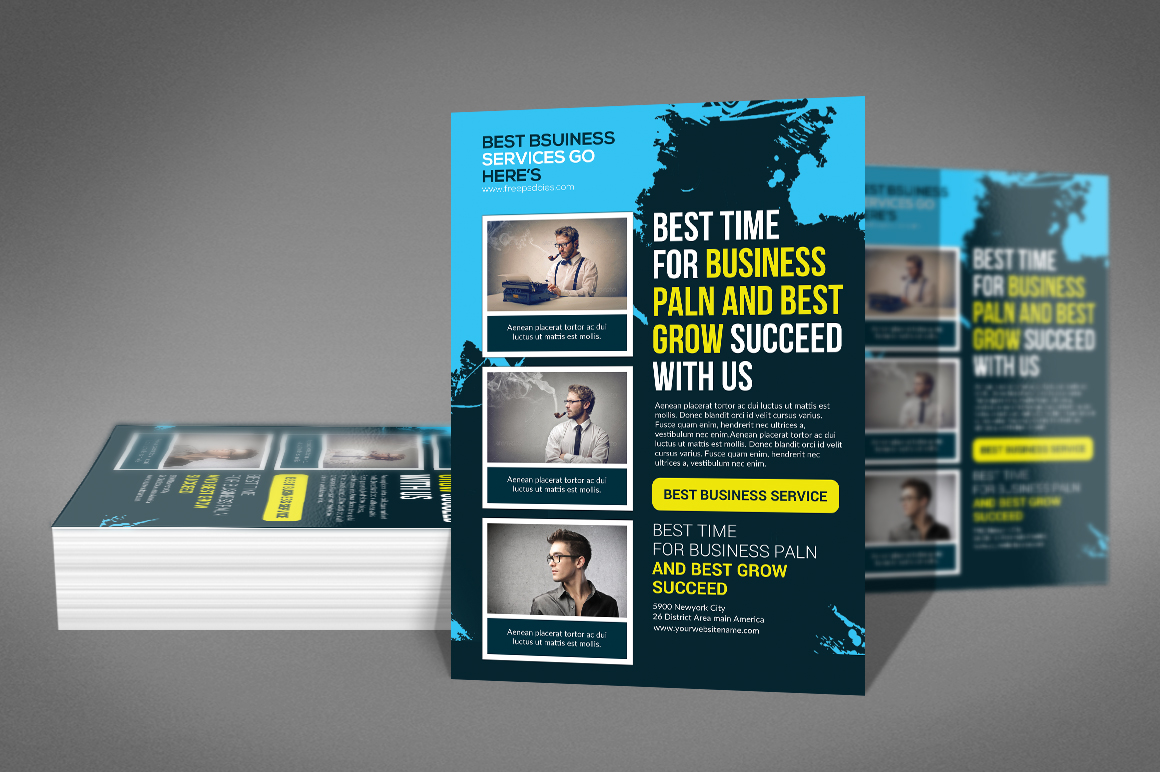 Business Service Flyer example image 2