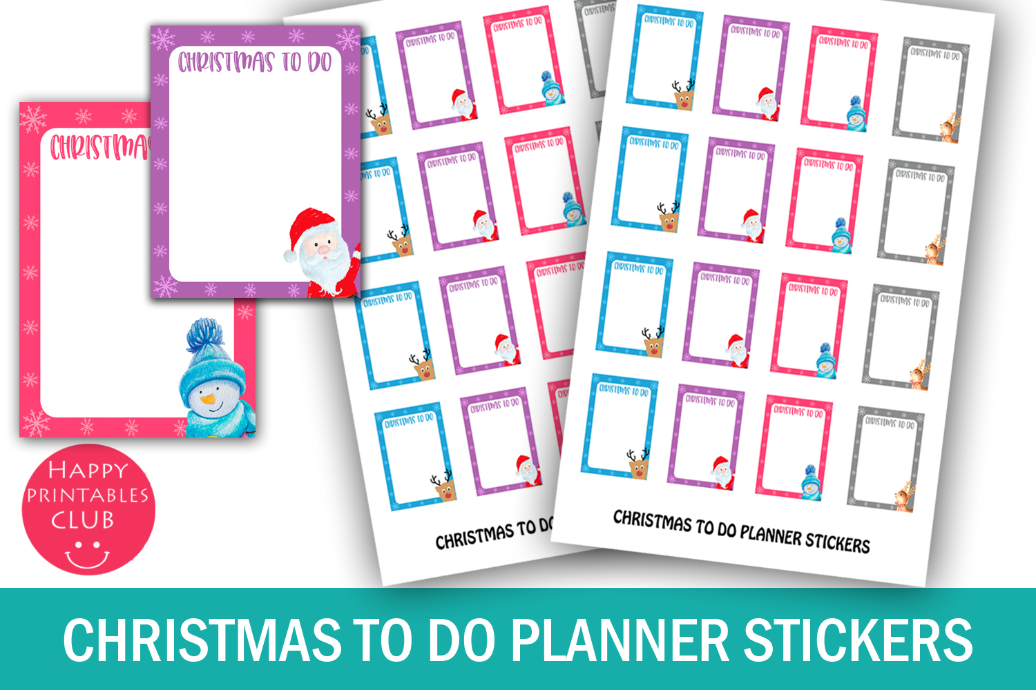 Christmas Planner Stickers Bundle- Holiday Stickers Bundle example image 9