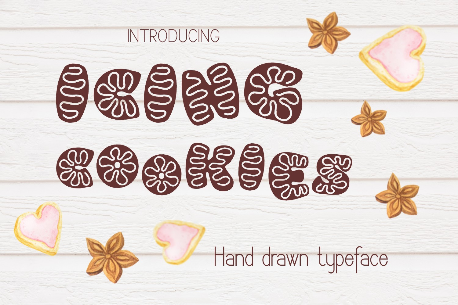 Icing cookies font example image 1