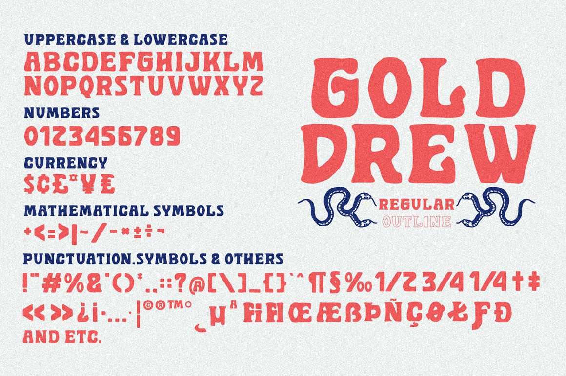 Golddrew Fonts example image 4
