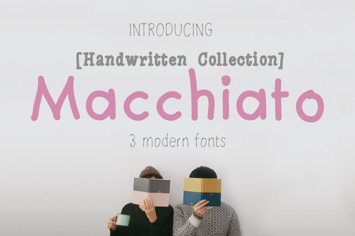 Macchiato [3 Fonts] example image 1