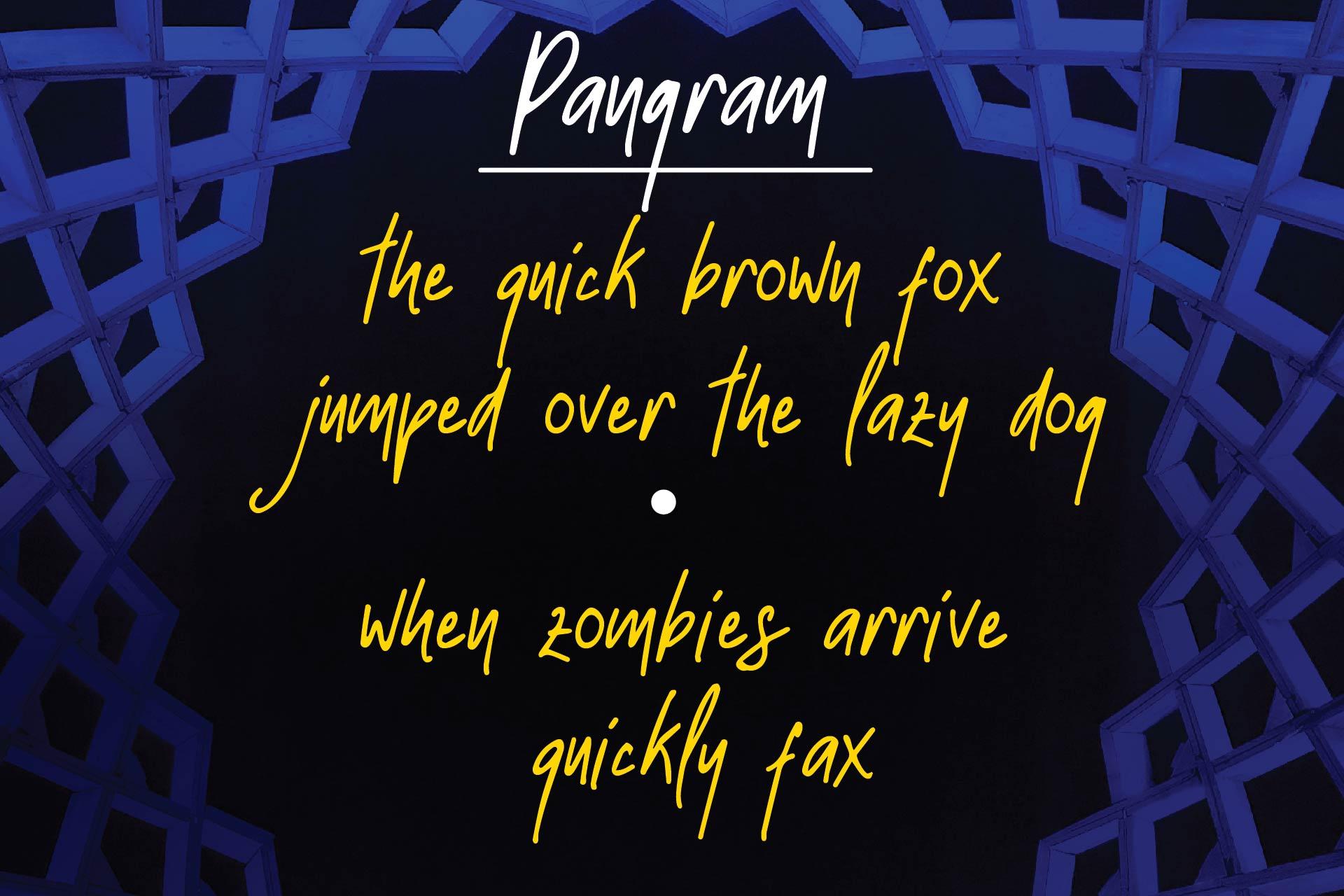 Strawline Typeface example image 2