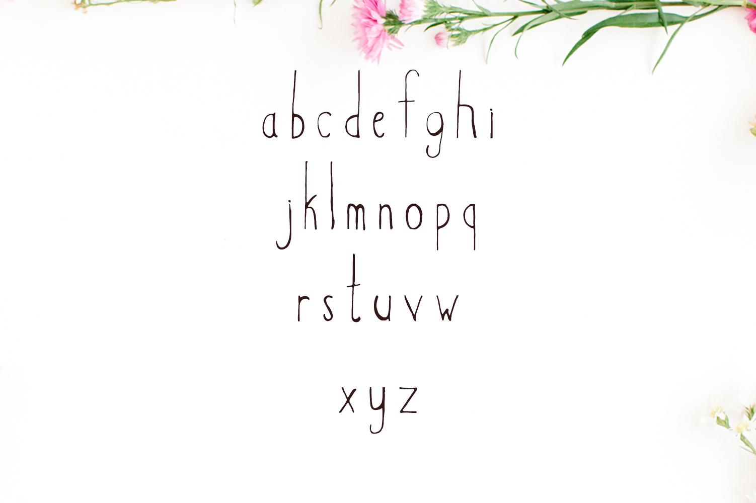 Hacca Handwritten Sans Serif Font example image 3