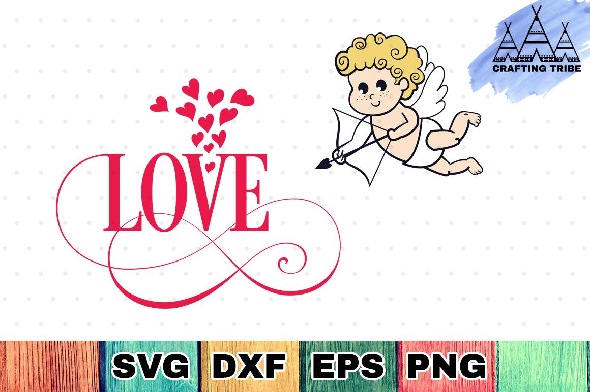 Valentine SVG Cut File - Love example image 1