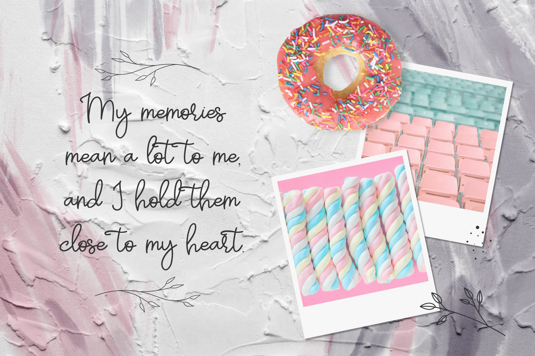 Pastel | hand-written font example image 2