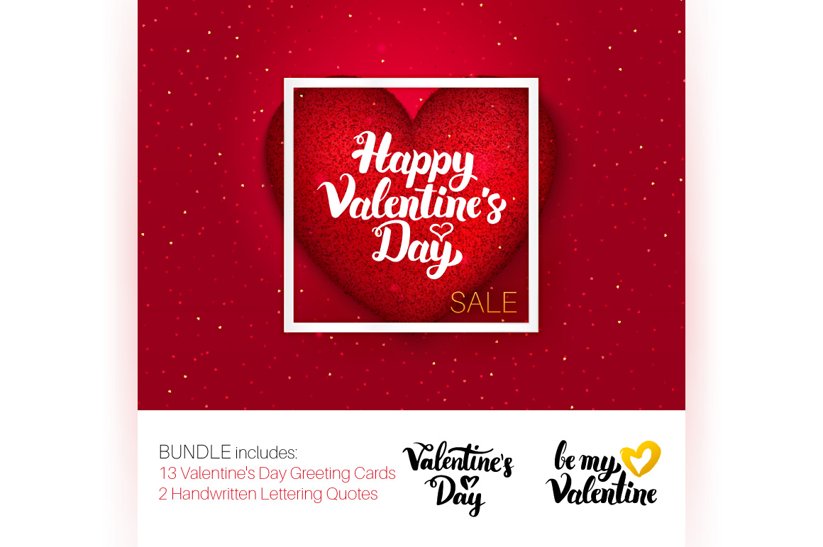 Valentine's Day Greeting Cards example image 2