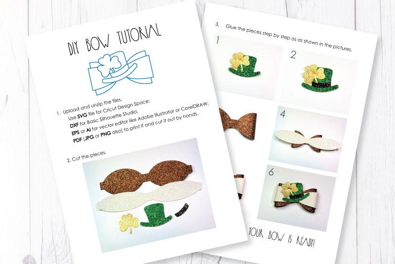Hair bows template SVG bundle, 100 bows SVG huge bundle example image 10