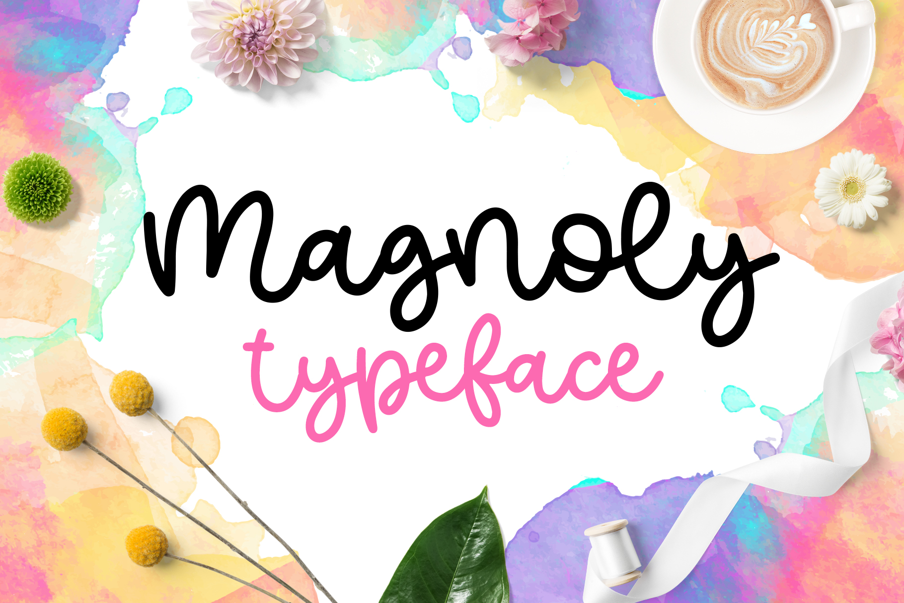 Magnoly Handwritten Font example image 1