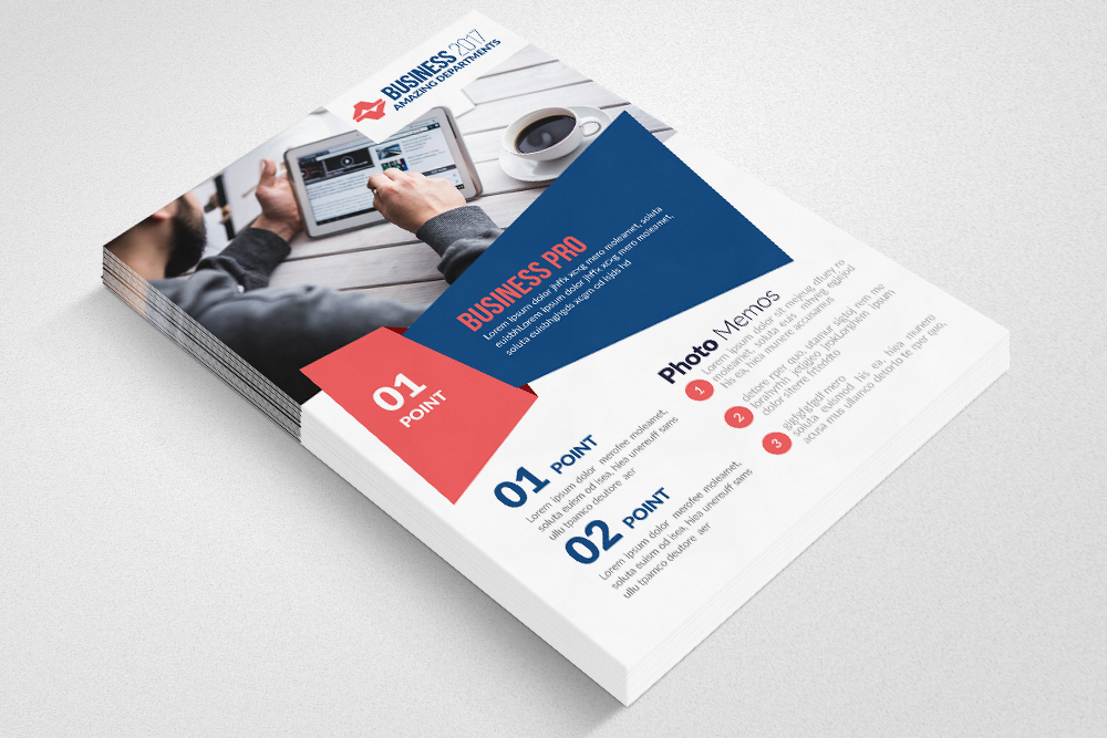 Global Network Services Flyer Template  example image 2