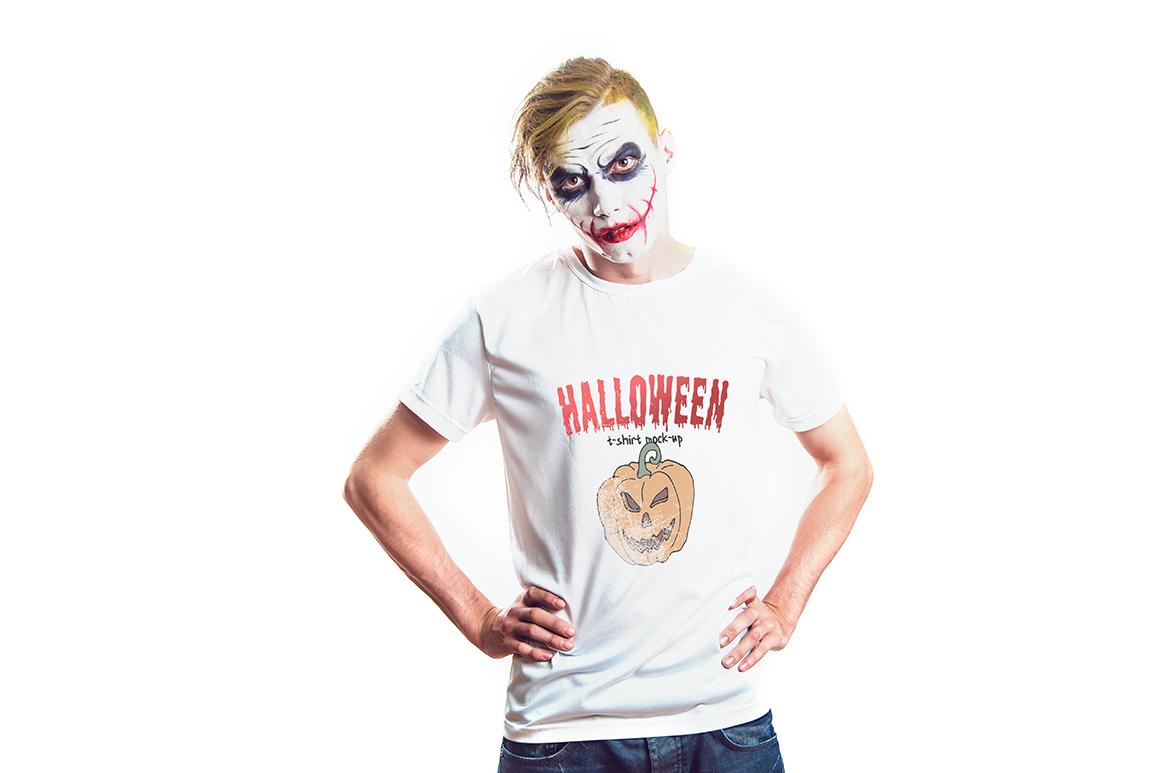 Halloween T-Shirt Mock-Up example image 4