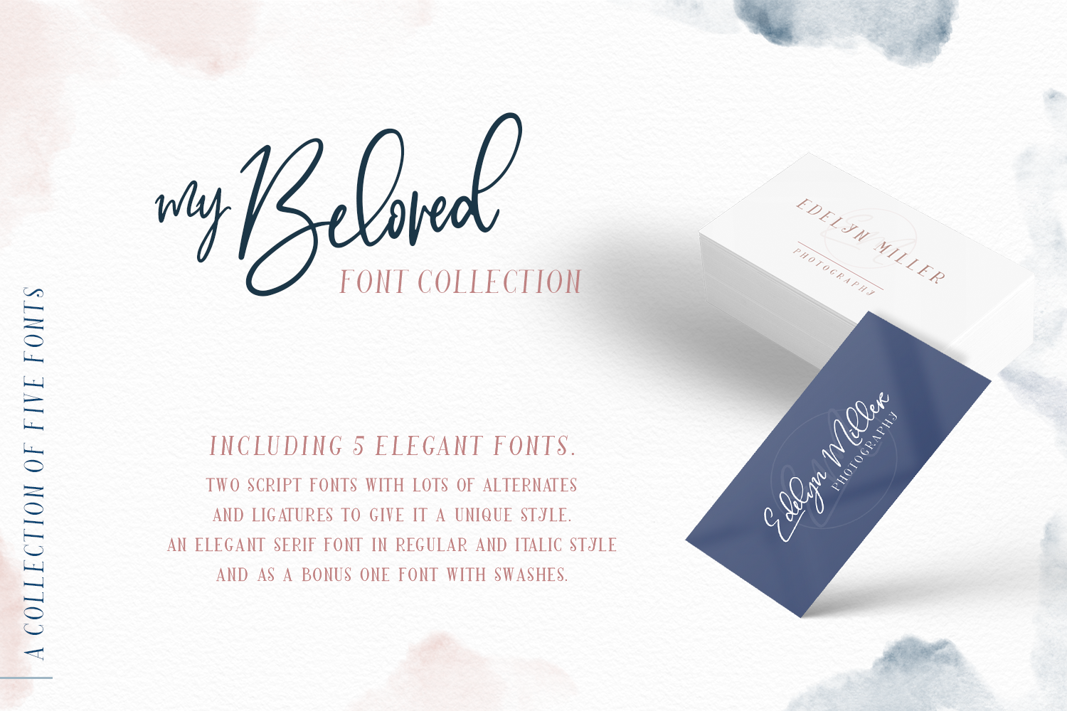 My Beloved ~ Script & Serif Font example image 2
