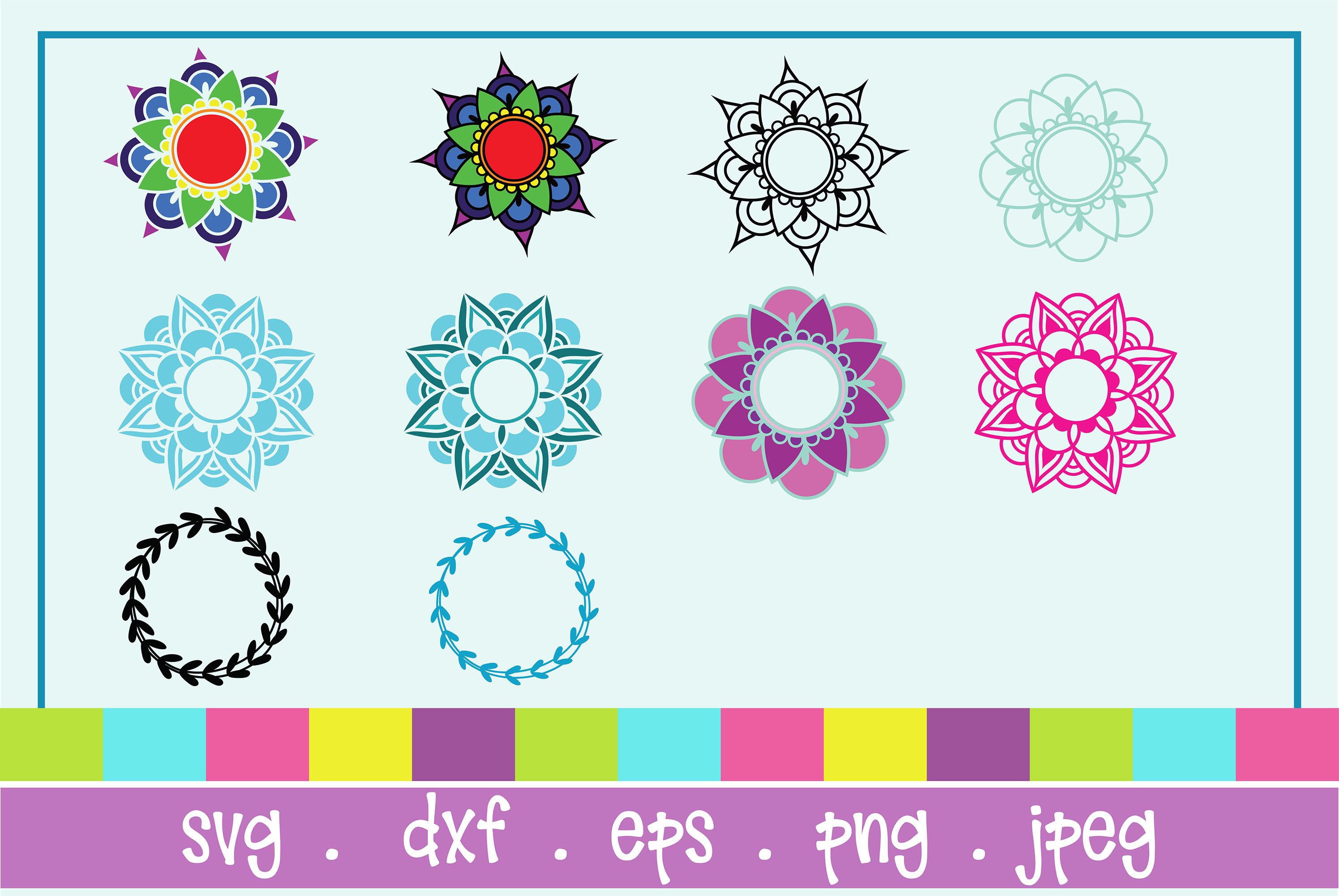 The Huge SVG Bundle Vol 2, 500 Cutting files, SVG, DXF,PNG example image 15