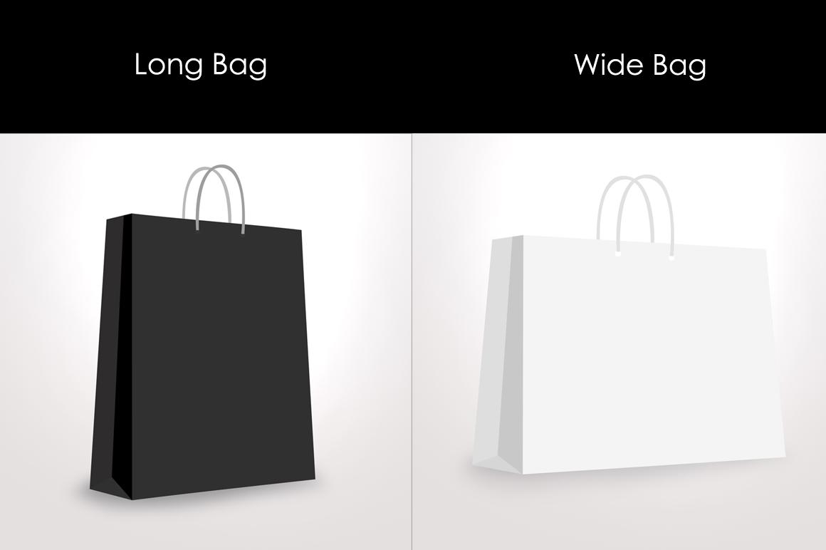 Paper / Shopping bag Mockup example image 3