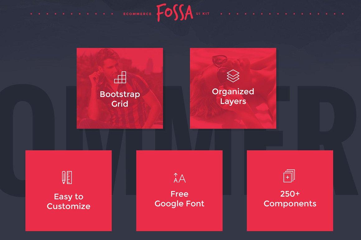 Fossa Ecommerce UI Kit example image 2