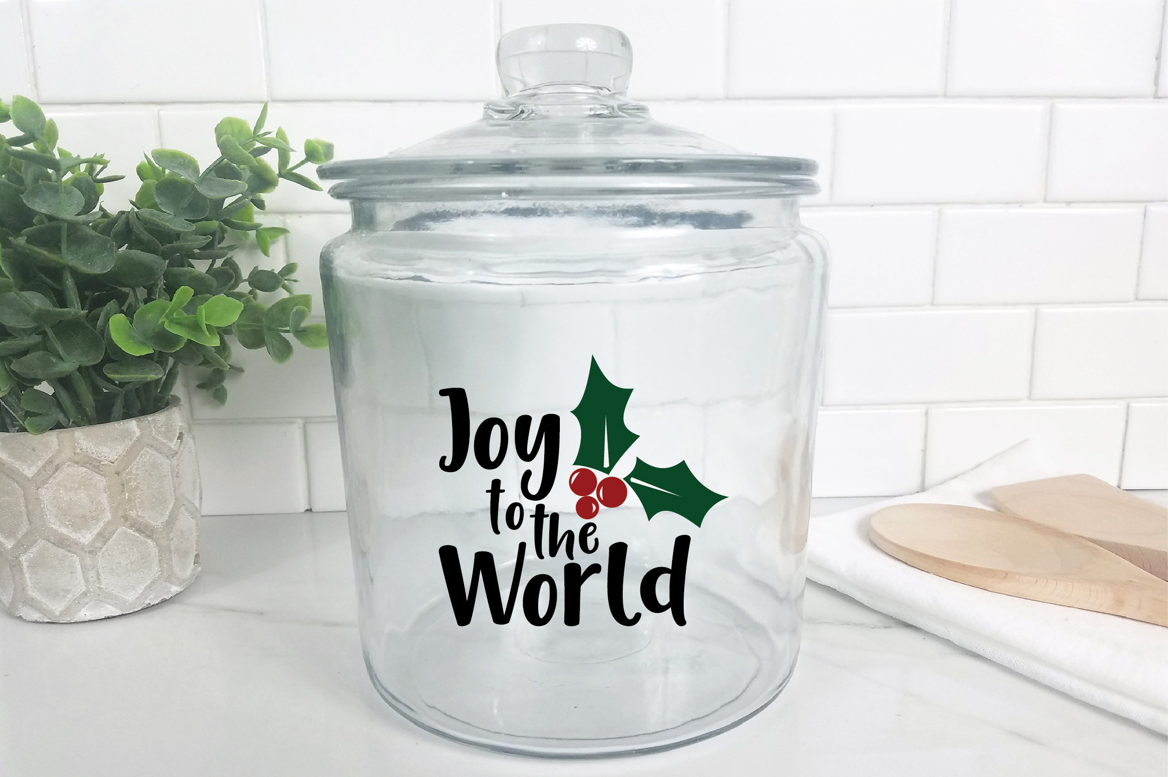 Joy to the World SVG Cut File - Christmas SVG example image 9