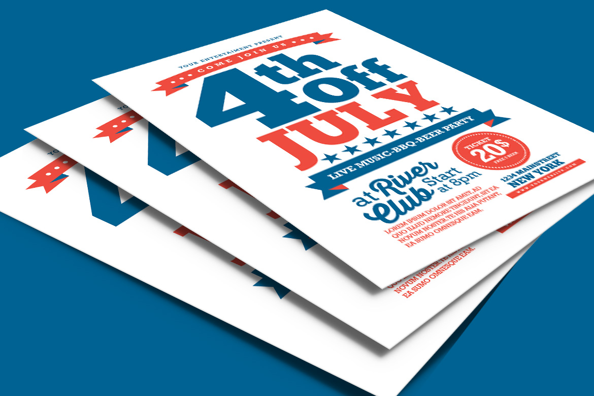 4th Of July Flyer example image 2
