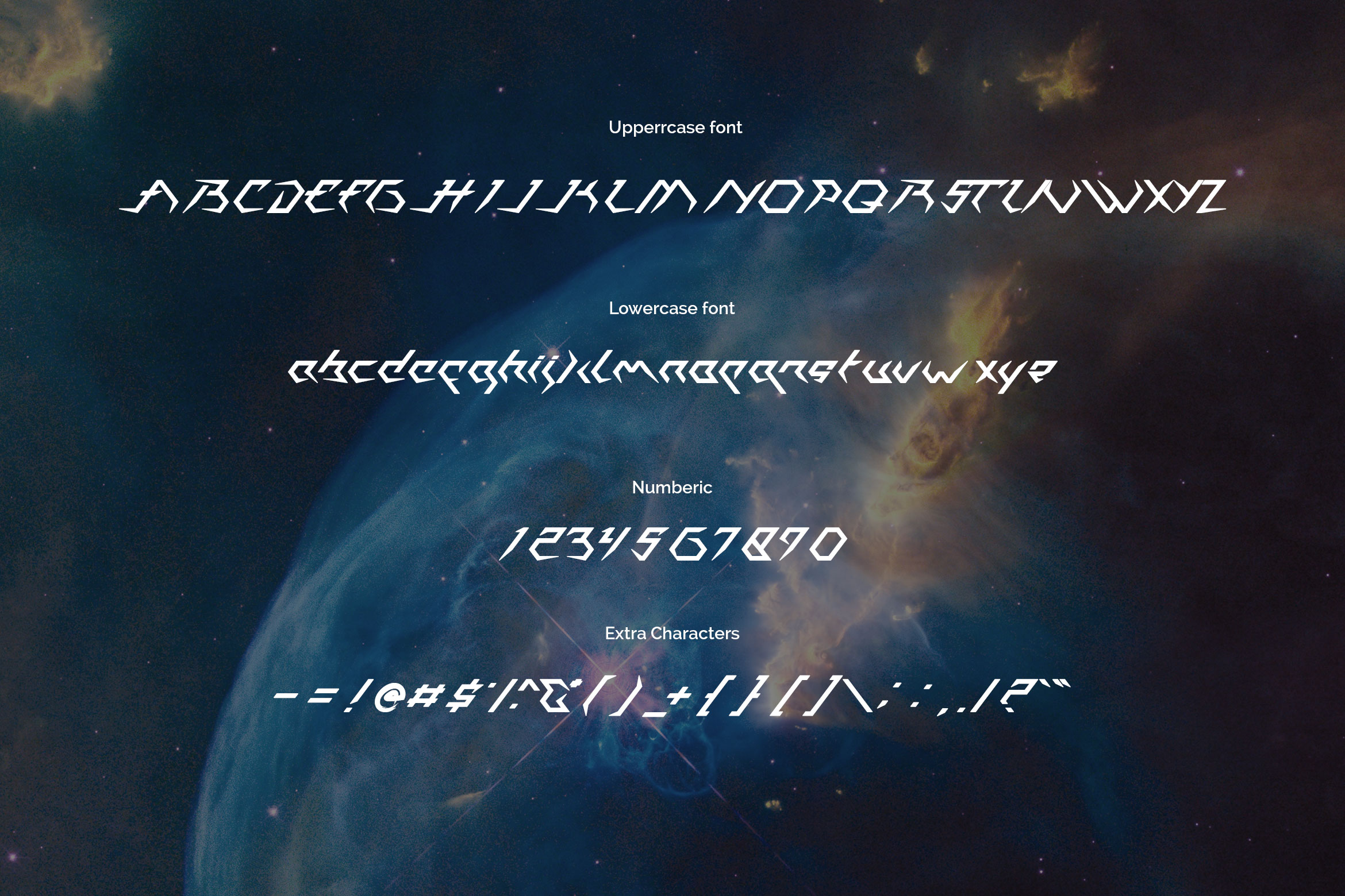 Casiopeia Font example image 2