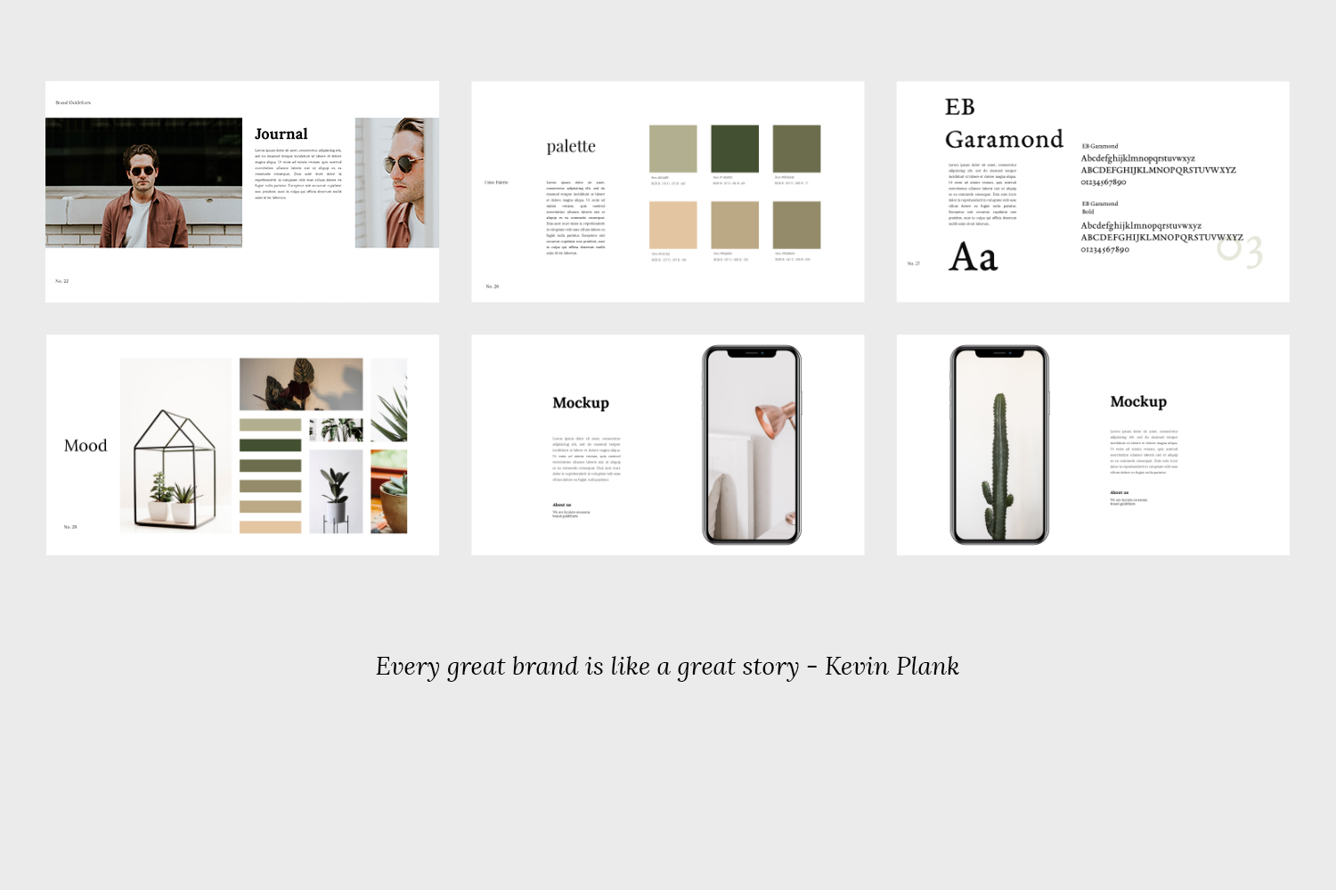 Kyuleto - Keynote Brand Guidelines Template example image 7