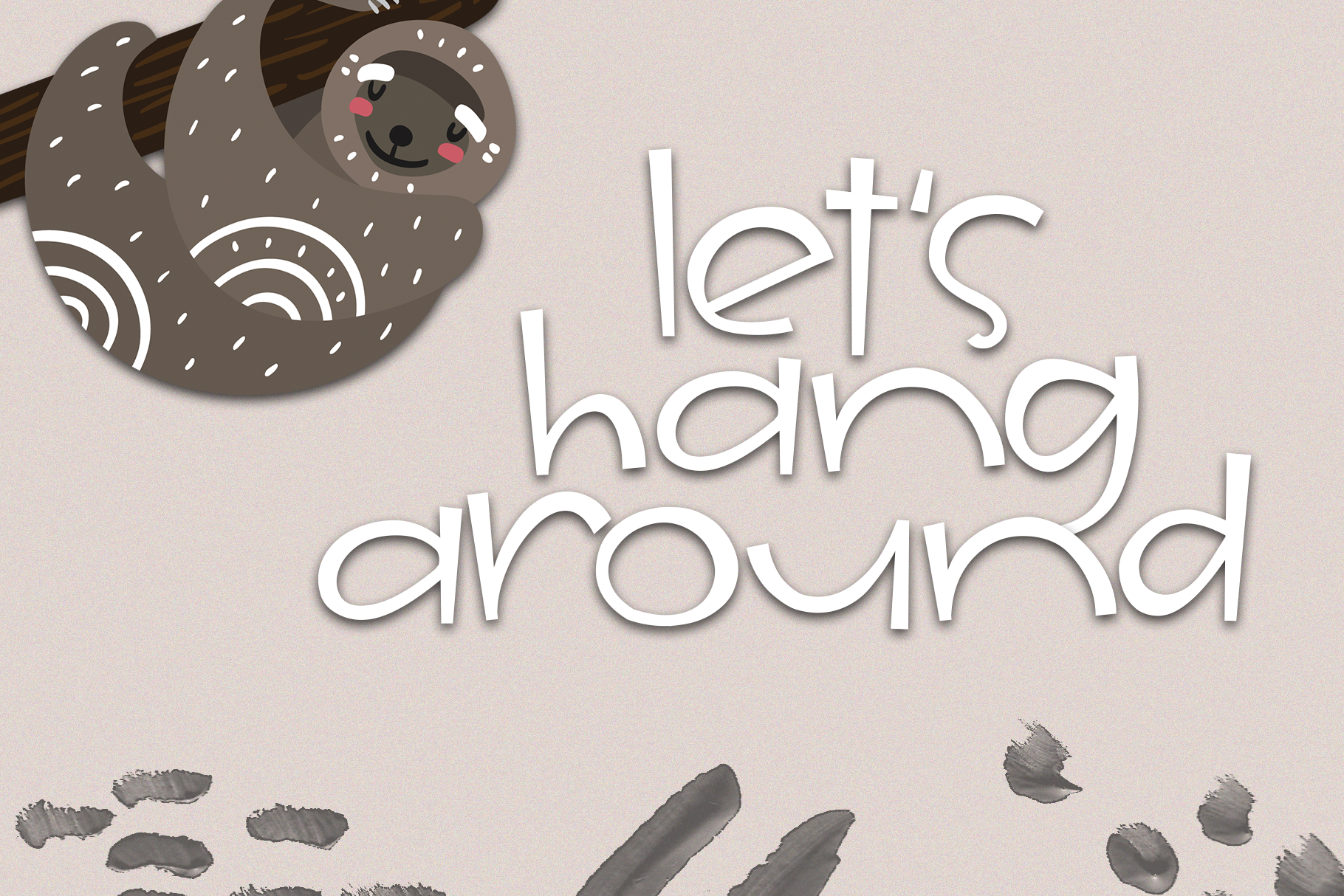 The Jungle - A Fun & Quirky Handwritten Font example image 4