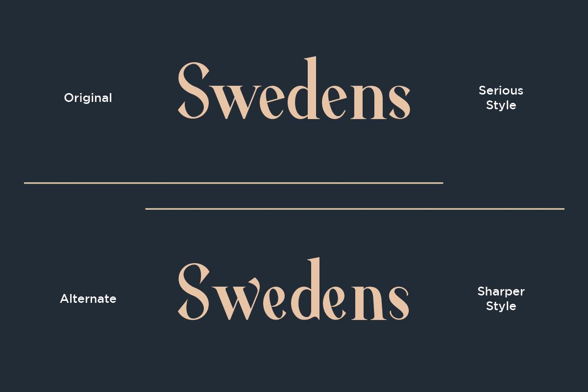 Average - Modern Serif Typeface example image 4