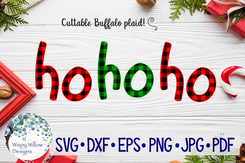 Buffalo Plaid Christmas Bundle SVG Cut Files example image 10